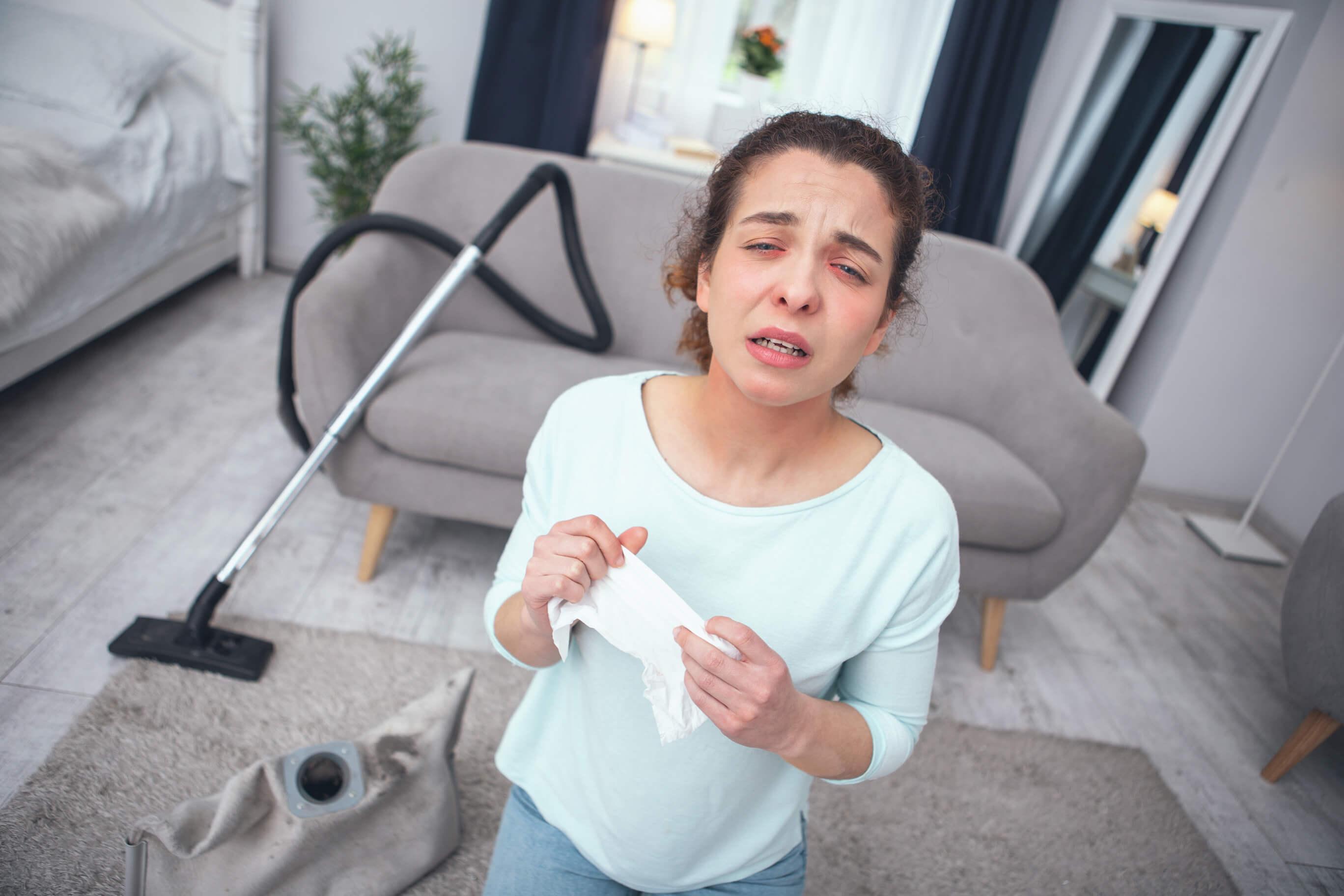 Seasonal eye allergies